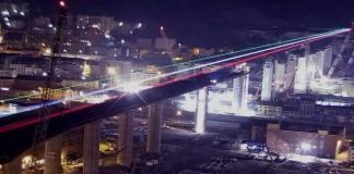 ponte per Genova tricolore