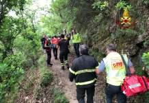 vigili del fuoco soccorso alpino premanico
