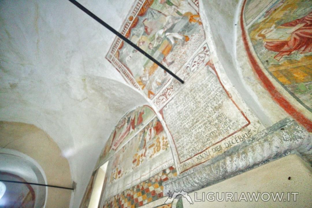 Gli affreschi di Pietro Guido da Ranzo nella chiesa di Santa Margherita del Borghetto a Mendatica