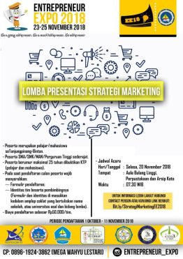 Lomba Presentasi Strategi Marketing