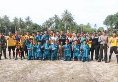 Mantang Baru FC Juara Turnamen Sepakbola Desa Pangkil Cup 2018