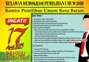 Ayo Daftar Jadi Relawan Demokrasi KPU Kota Batam
