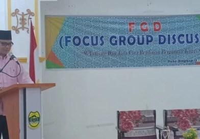 Gelar FGD, Pemkab Lingga Bahas Politeknik Pertanian