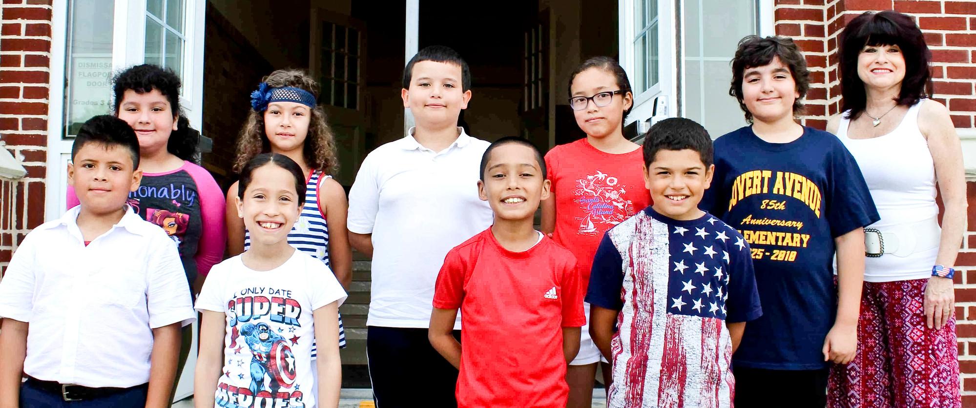 Covert Avenue Celebrates Flag Day