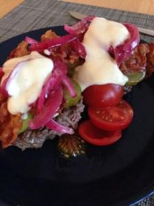 Burgers & Onion Relish