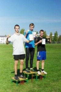 100m jooksu autasustamine