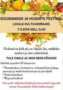 Sügisandide festival