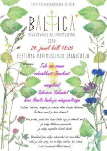 2016 Baltica Jaaniõhtu