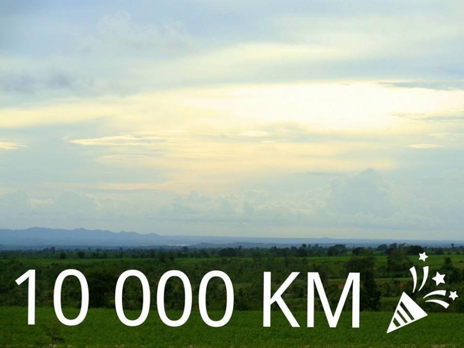 8. juuli 2016 - Koebin küla, Myanmar TÄHISTAMAS 10 000 KILOMEETRI JALUTAMISE TÄITUMIST