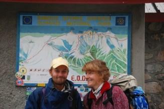 Vallutamas koos õe Kadiga Kreekamaa kõrgemat mäge Olümpos. September 2014.