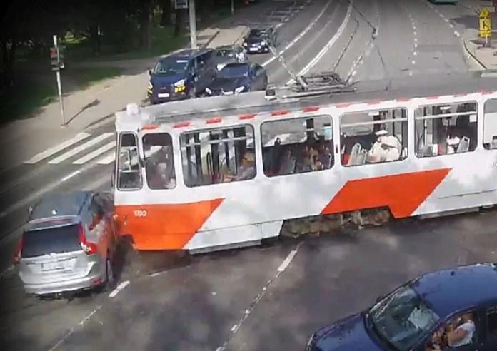 Liiklusõnnetused trammidega