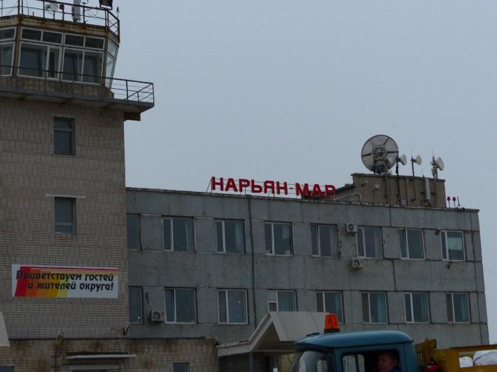 Narjan-Marin lentokenttä.