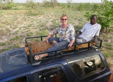 Pian lähdetään savannille.