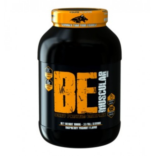BE MUSCULAR MORE 1000G - ISOLATE