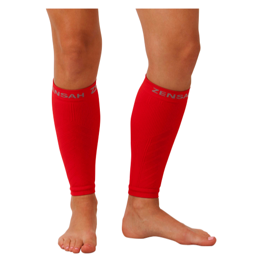 Compression Leg Sleeves - Red