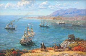 Ахтиарская бухта во времена основания Севастополя