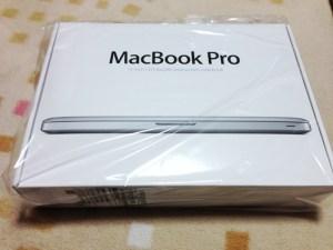 【レビュー】MacBook Pro 13インチ Mid 2012 MD101J/A