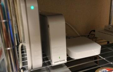 AirMac Extremeで外付けHDDをネットワーク化してみた