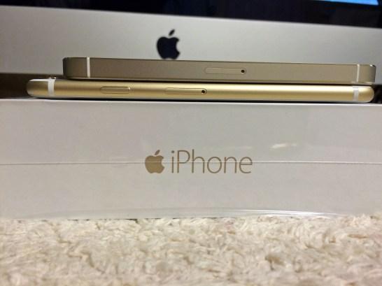 【開封レビュー】iPhone6ゴールドSIMフリーが届きました
