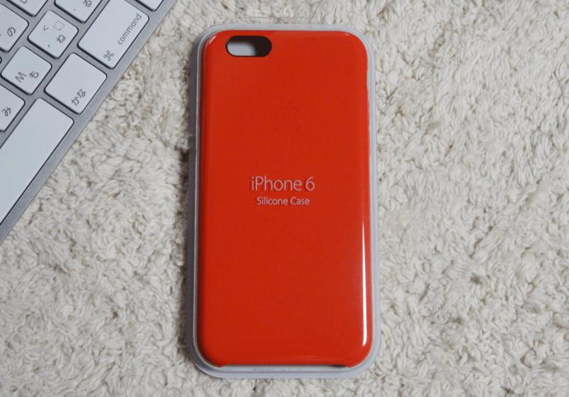 iphone6シリコン赤パッケージ のコピー