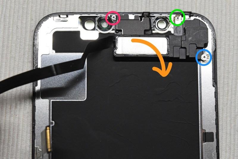 Iphone x display exchange 2a 3