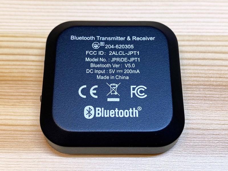 Bluetooth jpt1 9