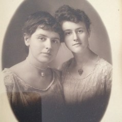 My maternal grandmother, Jenny, and her sister, Merah