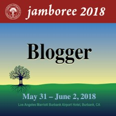 Jamboree 2018 BLOGGER Badge, v1
