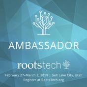 2019 RootsTech Ambassador