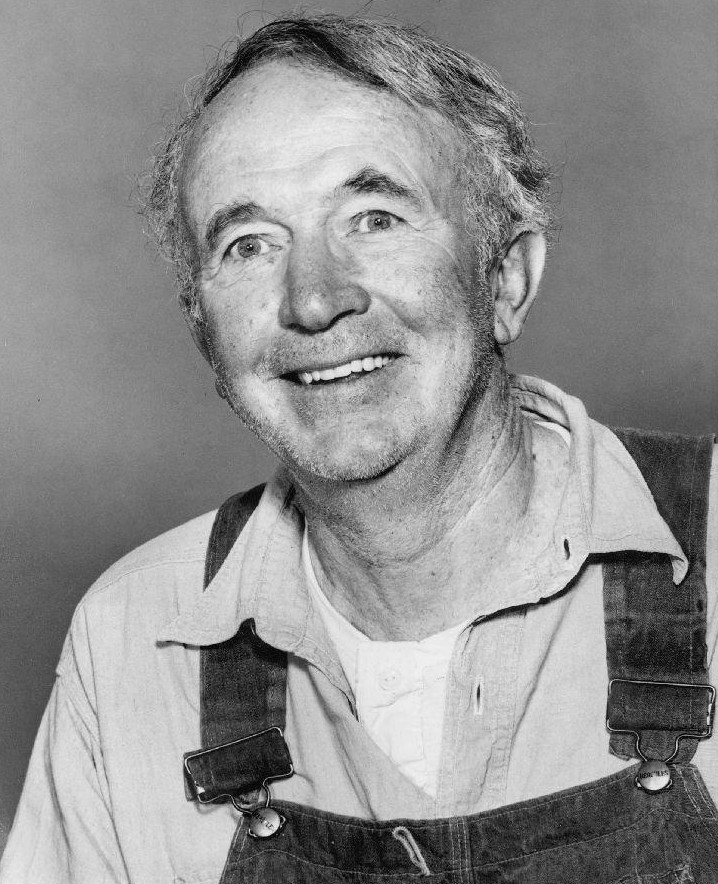 Grandad and Walter Brennan