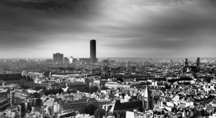 Paris, vue de Notre-Dame