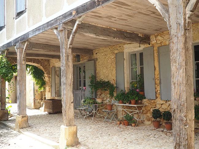 Labastide d'Armagnac place
