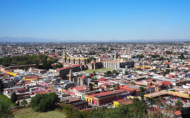 cholula-mexique