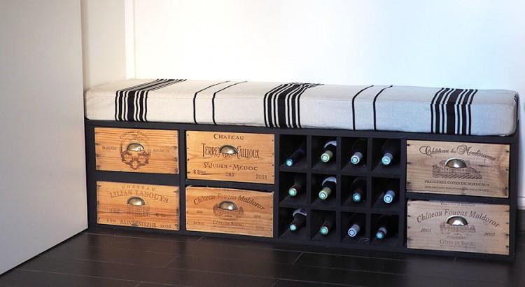 Rcup Fabriquer Un Meuble Avec Des Caisses De Vin