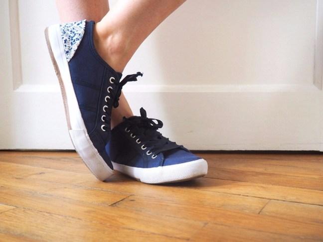 comment relooker des chaussures