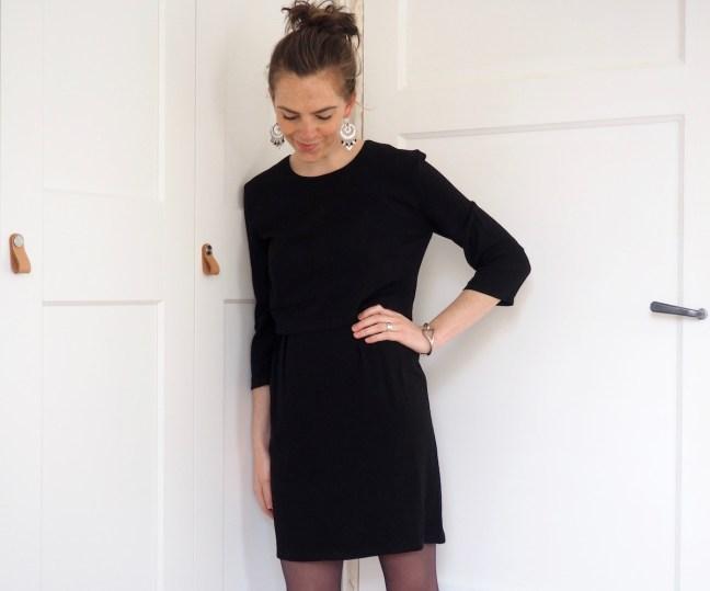robe noire couture