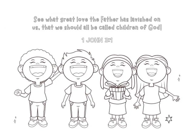 Free Printable Bible Verse Coloring Pages For Kids