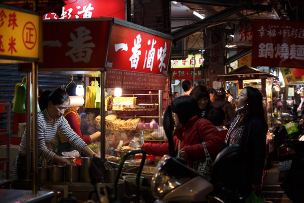 Neihu night market on lane 737