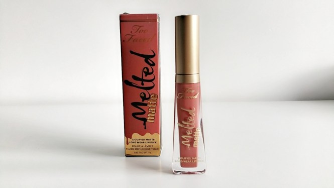 Rouge à lèvres melted matte de Too Faced