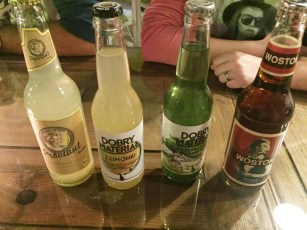 Variety of drinks