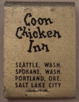 Coon Chicken Matchbook