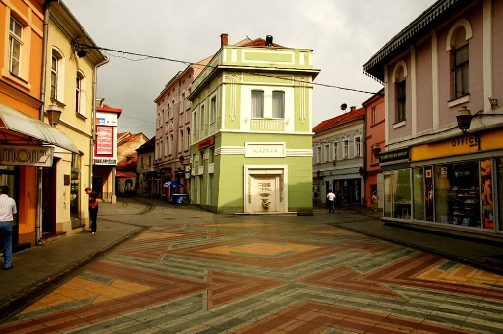 Old Town in Tuzla