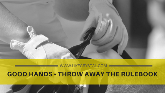 Good Hands – Throw Away The Rulebook