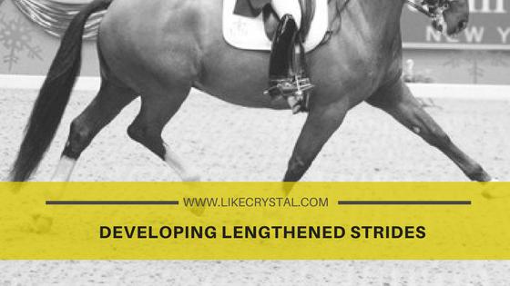 Developing Lengthened Strides
