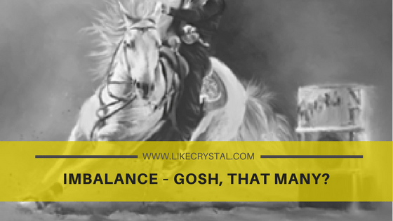 Imbalance – Gosh, that many?