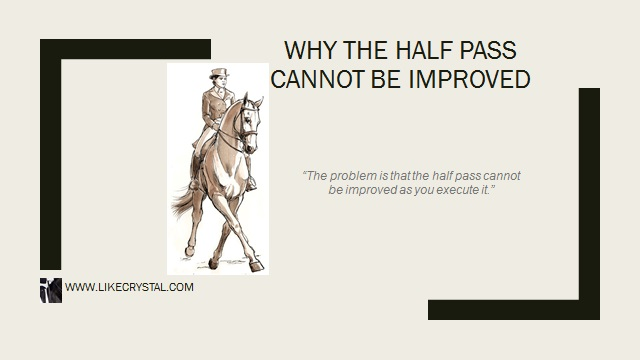 Why The Half Pass Cannot Be Improved