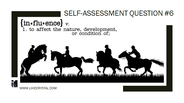 Q6 Can You Influence Your Horse's Paces