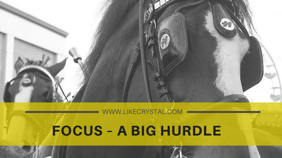 Focus – A Big Hurdle