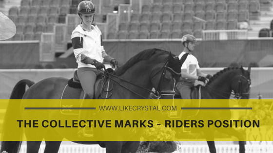 The Collective Marks – Riders Position