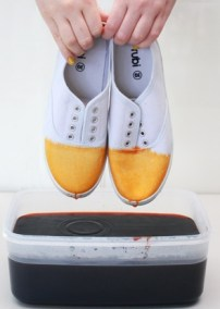 dip dye shoes